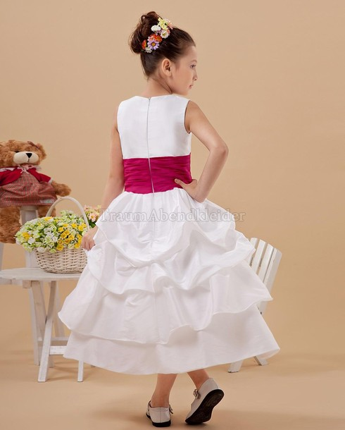 hot pink flower girl dress № 139475