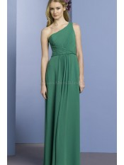 Strand A-Line normale Taille formelles Brautjungfernkleid