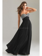 A-Linie Empire Taille sexy legeres Ballkleid