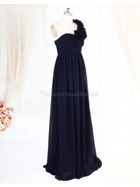 Empire Chiffon Sweep train extravagantes Abendkleid