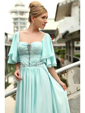 A-Linie Queen Anne modisches Abendkleid mit Kristall