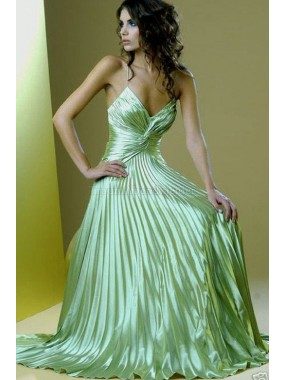 A-Line normale Taille Sweep train Modern Abendkleid