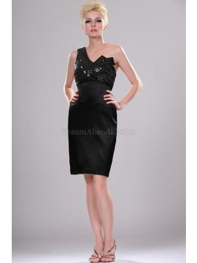 Spitze Empire Taille knielanges stilvolles Cocktailkleid