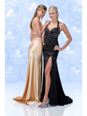 A-Linie Sweep train Empire Taille Elegantes Ballkleid