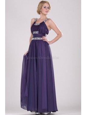 Enges Apfelform normale Taille luxus Ballkleid