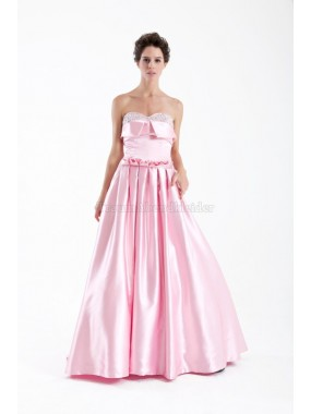 Empire gerüschtes luxus Abendkleid mit Sweep zug