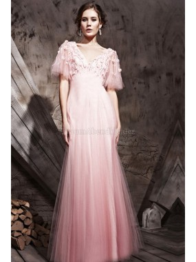 A-Line ewiges Empire Taille legeres Abendkleid
